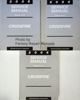 2006 Chrysler Crossfire Service Manual Volume 1, 2, 3