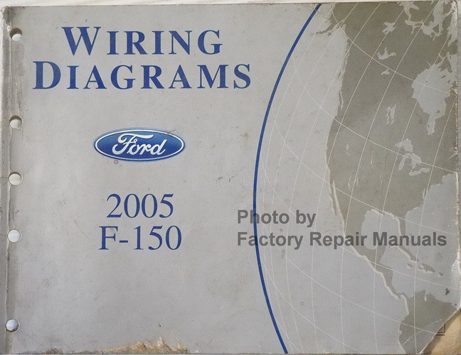 2005 Ford F150 Truck Electrical Wiring Diagrams Original