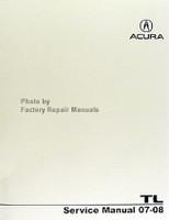 ACURA TL Service Manual 07-08