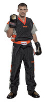 PQ Mesh Uniforms 'Neon Ltd' Black/Orange Children