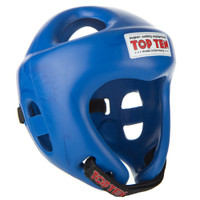 "Competition Fight Head Guard ""OLYMPIA"" BLUE 4061-6"