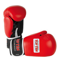 "TOP TEN ""AIBA"" Boxing Gloves 10oz Red"
