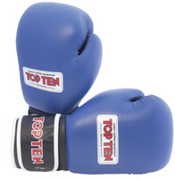 "TOP TEN ""AIBA"" Boxing Gloves 12oz Blue"