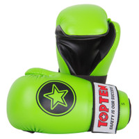 "PointFighter ""NEON GREEN"" Star Gloves Ltd Edition"