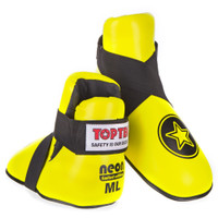 "TOP TEN Fight Kicks ""NEON YELLOW"" Star Ltd Edition"