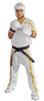 Coolmesh Tech Uniform White/Gold Adult