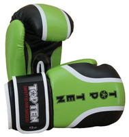 "Boxing Gloves TOP TEN ""Rallye"" 10/12/16oz GREEN (2274-15)"