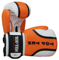 "Boxing Gloves TOP TEN ""Rallye"" ORANGE 10/12/16oz (2274-13)"