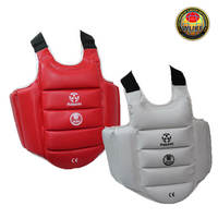 WUKF APPROVED REVERSIBLE KARATE CHEST GUARD - (231-4000)
