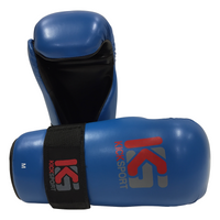 "KICKSPORT POINTS GLOVES ""FIGHT"" - BLUE (KSFPG-06"
