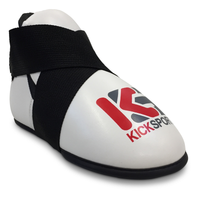 "KICKSPORT POINTS ""FIGHT"" KICKS - CLEARANCE 2016 EDITION - WHITE (KSFK-01)"