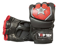 "TOP TEN MMA ULTIMATE FIGHT GLOVES ""OCTAGON"" BLACK (2312-9)"