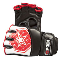 "TOP TEN MMA ULTIMATE FIGHT GLOVES ""OCTAGON"" RED (2312-4)"