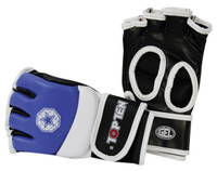 TOP TEN MMA AMATEUR COMPETITION GLOVES BLUE (23301-6)