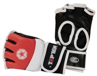 TOP TEN MMA AMATEUR COMPETITION GLOVES RED (23301-4)