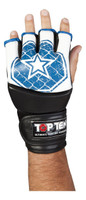 "TOP TEN MMA ULTIMATE FIGHT GLOVES ""OCTAGON"" BLUE (2312-6)"
