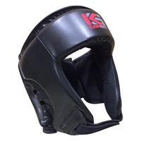 Kicksport Boxing Head Guard Black - Adult