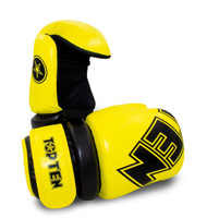"TOP TEN ""W.A.K.O."" Pointfighter Gloves BLOCK - YELLOW/BLACK"