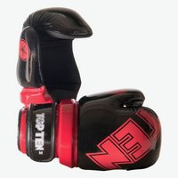 TOP TEN Pointfighter Gloves BLOCK - Black/Red