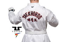 Childrens World Taekwondo Embroidered Back