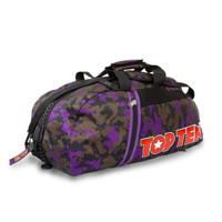 Backpack-Sportsbag-Dufflebag combination -Purple  Small 55 x 29 x 27