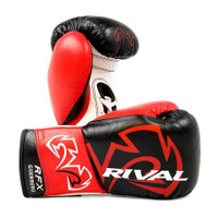 Rival RFX-Guerrero Pro Fight Gloves - SF-F-BLACK/RED/WHITE