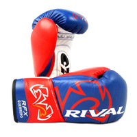 Rival RFX-Guerrero Pro Fight Gloves - SF-F-BLUE/RED/WHITE