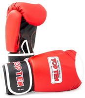 "Boxing Gloves ""WAKO"" - RED 10oz"