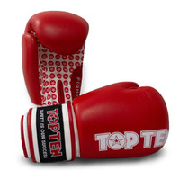 "Boxing Gloves ""Fight"" Red 10oz"