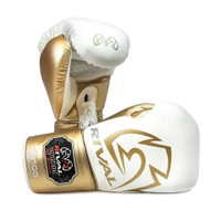 Rival RS100 Professional Sparring Gloves-White/Silver