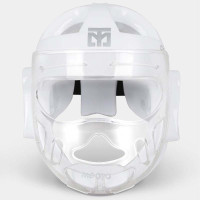 Mooto Face Covered Head Guard White