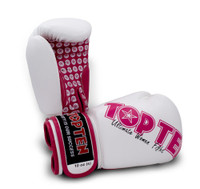 Top Ten Womens Boxing Gloves White/Pink