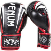 Venum Sharp Adult Boxing Gloves Black/Red