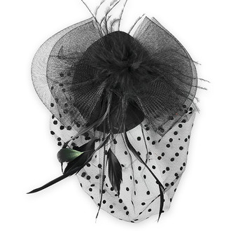 Evelyn Fascinator Mini Top Hat