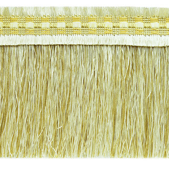 Caitlin Woven Braid Brush Fringe Trim