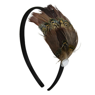 Feather Fashion Headband