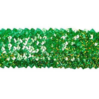 "5 Row 1 3/4"" Starlight Hologram Square Sequin Stretch Trim"