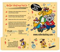 Roller Skating Pocket Folders