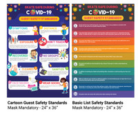 COVID19 Guest Standards Poster - Mask Required