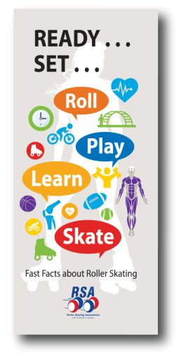 These brochures offer a variety of facts about health, fitness, safety and history of roller skating and are great to hand out at local events, schools or in your rink to inform the public about why roller skating is a healthy, safe and fun activity for the whole family.  100 brochures per package.