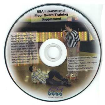 Floorguard DVD (#E606) Help train your floor guards with this how-to video from the RSA.