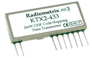 KTX2- UHF FM Code-Hopping Data Transmitter