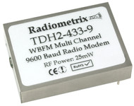 TDH2 - UHF Multi Channel Higher Power Radio Modem Frequency 433.925 - 434.565 MHz