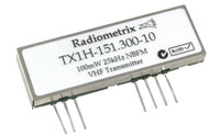 TX1H-VHF Narrow Band FM High Power (100mW) Transmitter Frequency 151.300MHz