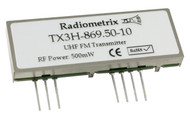 TX3H Wide Band 450mW Transmitter Frequency 869.50MHz