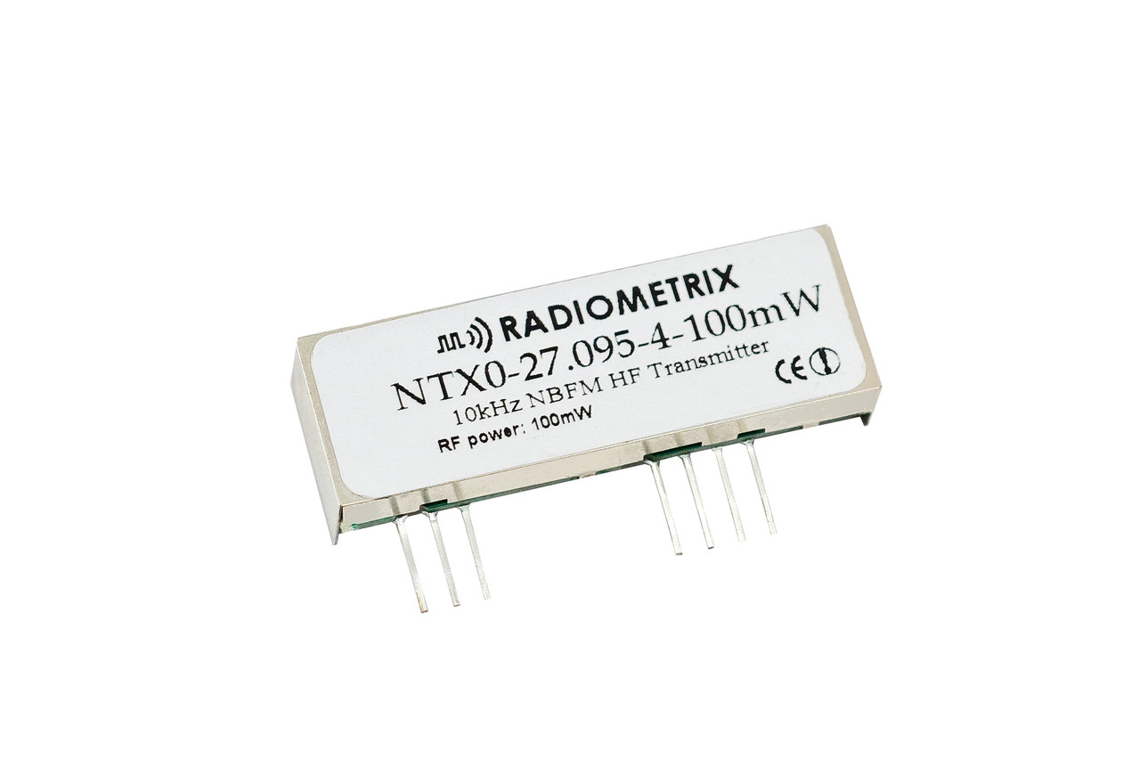 Ntx0 27mhz Hf Narrow Band Fm Transmitter Radiometrix Ltd 4 Transistor Larger More Photos