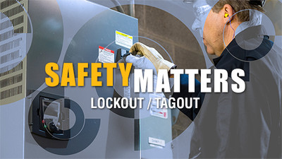 Safety Matters: Lockout/Tagout
