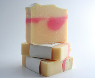 Breakfast at Tiffany's Soap, tart and tangy.