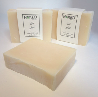 Too Shea  - Unscented Goats Milk & Shea Butter Handmade Soap