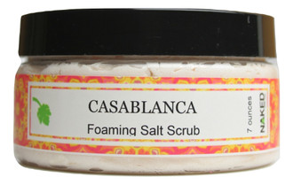 Casablanca Foaming Salt Scrub